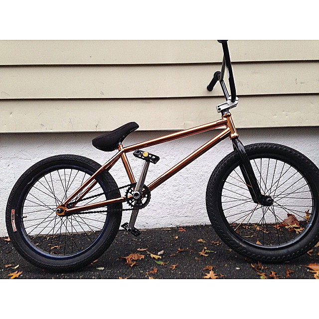 New new. @united_bmx @animalbikes #copper