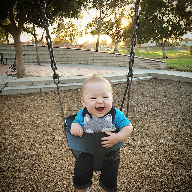 Took this lil guy for a swing the other day. #couldn'tgetenough
