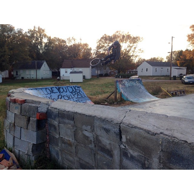 @vandeverhoman transfer at a dope DIY spot