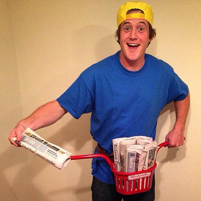 Ok @vandeverhoman you win, you win. #paperboy #nintendo #nes