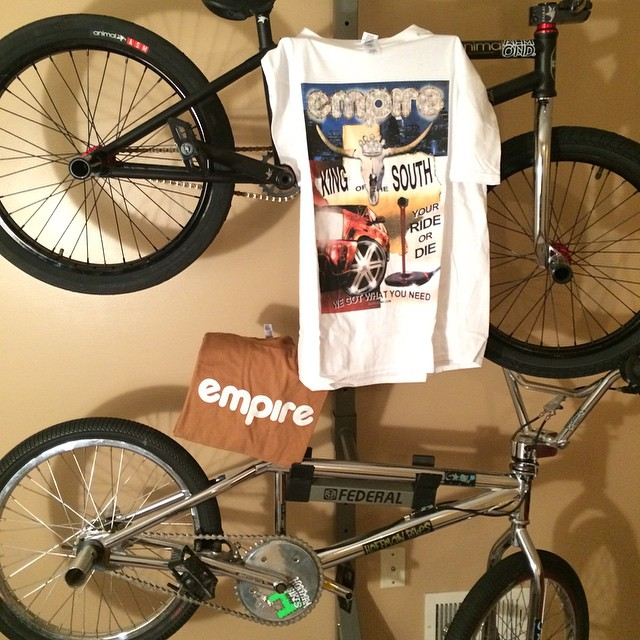 Thanks for the care package @empirebmx haha  #kingofthesouth #austintexasfinest