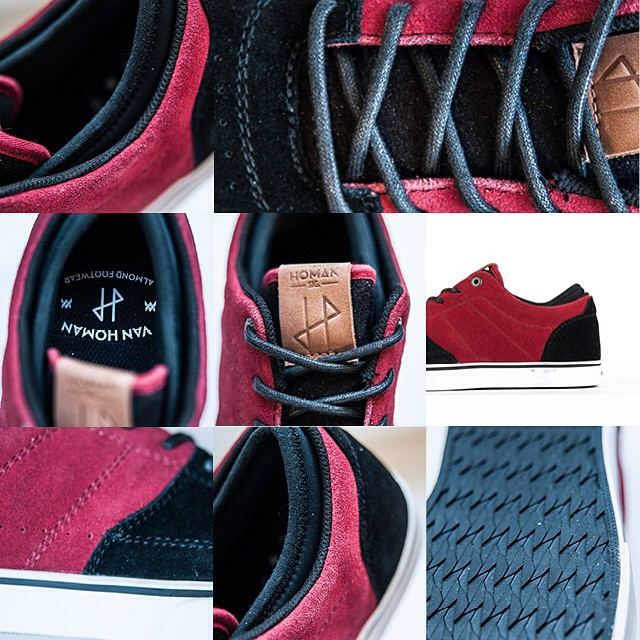 @vandeverhoman signature shoe fully in progress and ready to hit the world in 2015. #homan #almondfootwear