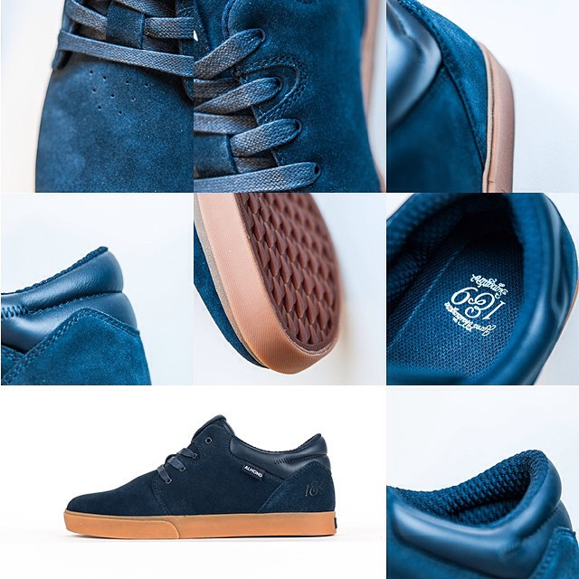 Sneaky shots of the @jaredwashington signature model for 2015. #almondfootwear