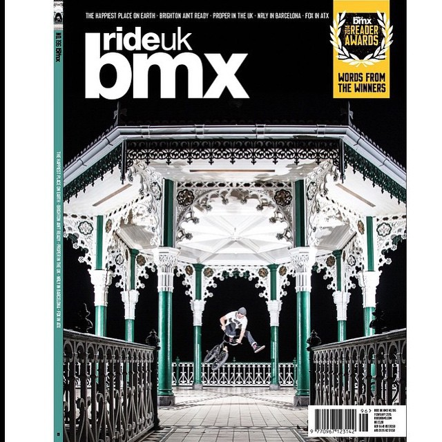 @lloydkink on the cover of next month's @rideukbmx magazine!