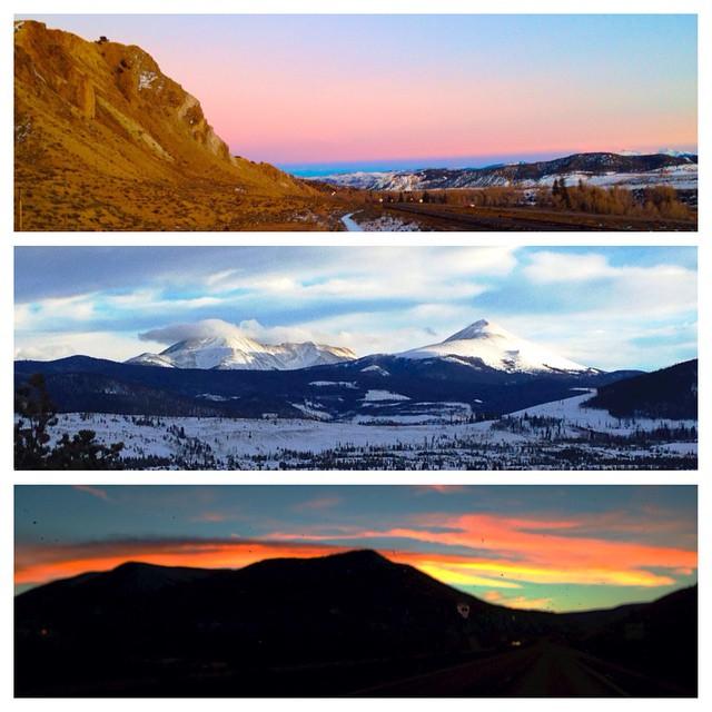 Cruising across Colorado, see you soon Salt Lake City.