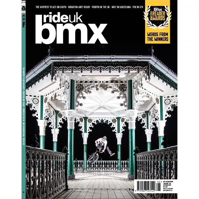I think it must be every bmxers dream to adorn the front of a bmx mag at least once and I couldn't be happier that I landed mine on home turf. Being a one trick pony finally paid off. Thank you @rideukbmx and thank you @bakosphoto for making this beautiful art. #bakoswillsaveus