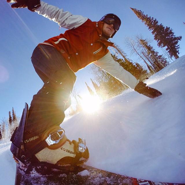 Thanks @fuzzyhall @powdermountain for the Utah snow session!