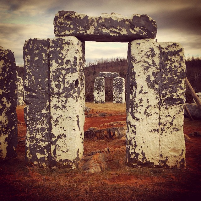 #foamhenge where the demons dwell and the banshees live and they do live well...