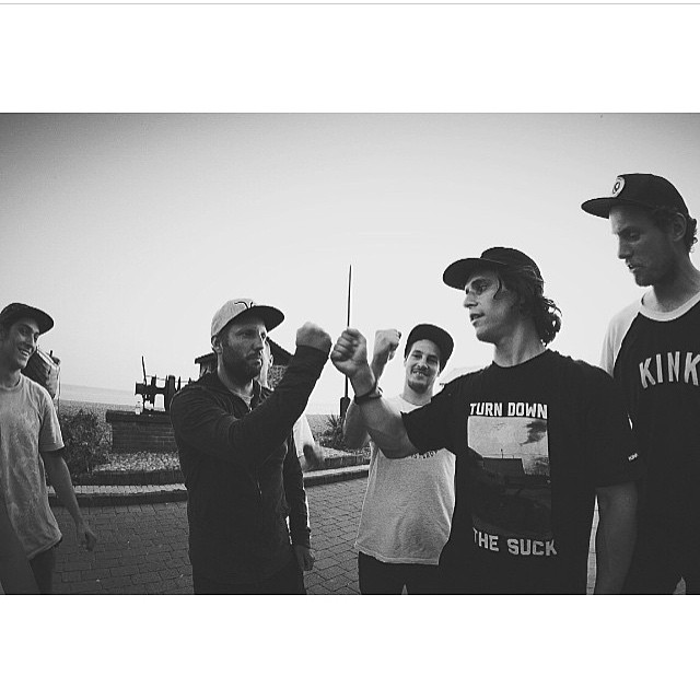 Re-gram from @fastforwardbmx good times filming for Brighton ain't ready.