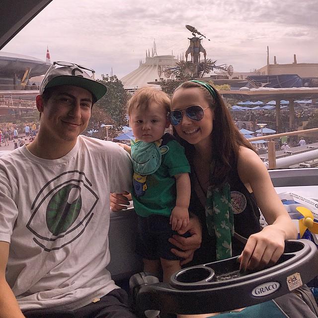 Disney day with the family! #FamDay #everyday #disneyland #birthday #st.patricksday