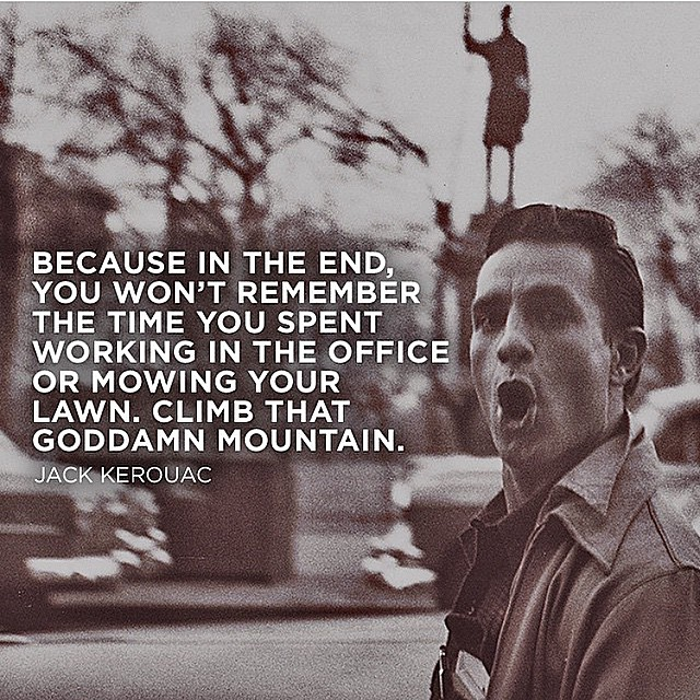 Happy birthday Jack Kerouac your books have enlightened me to give no fucks. #dowhateveryouwant