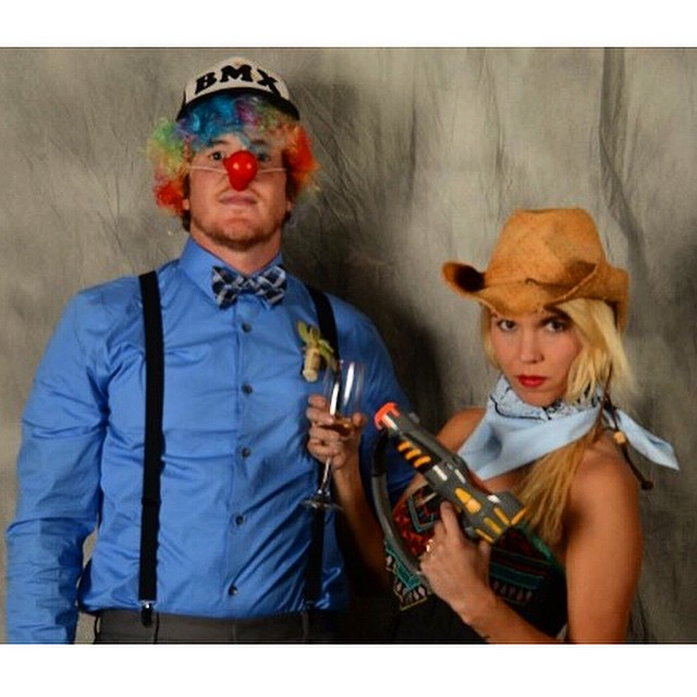 Rodeo clown flashback #punkyandkeith2014