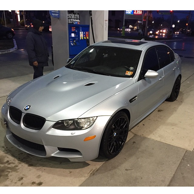 Sooo today I bought one of my dream cars. And I'm really psyched about it lol  #m3 #v8