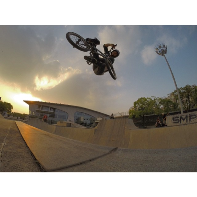 And one more evening at the worlds largest skatepark. Photo: @t1ers